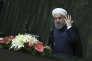 Hassan Rohani, lors du vote de confiance du Parlement, à Téhéran, le 20 août.