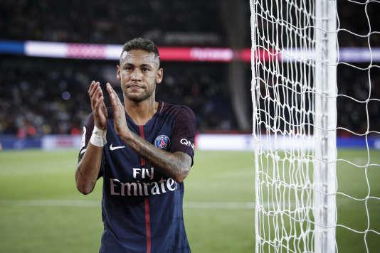 L'attaquant parisien Neymar, le 20 août.