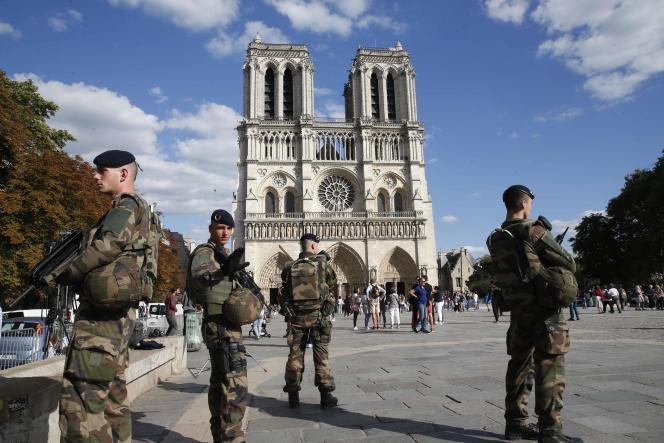Le dispositif« Sentinelle», mis en place en 2015, mobilise plus de 7 000 soldats.