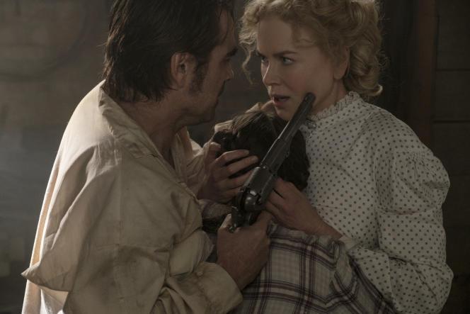 Nicole Kidman et Colin Farrell dans lefilm américain de Sofia Coppola, «Les Proies» («The Beguiled»).