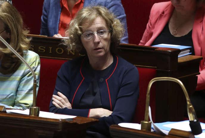 Muriel Pénicaud, à l'Assemblée nationale, le 9 août.