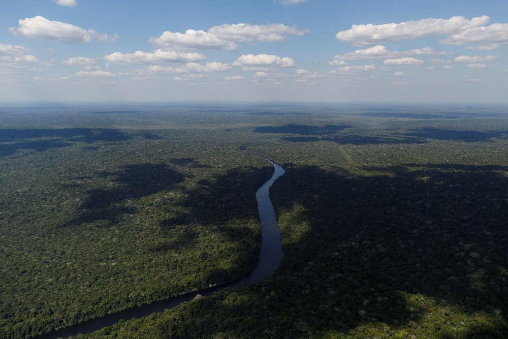 La rivière Acari à Apui, dans le sud de l'Etat d'Amazonas.