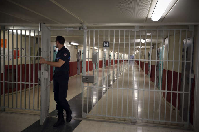 A la prison de Fleury-Merogis, le 29 octobre 2015.