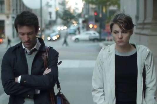 Shane Carruth etAmy Seimetz dans le film américain deShane Carruth,«Upstream Color».