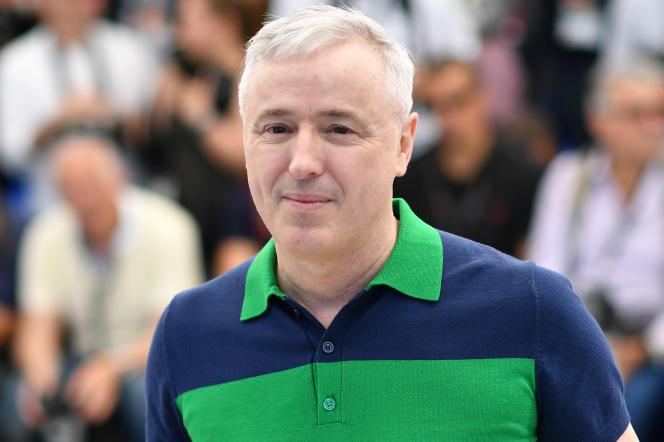Le cinéaste Robin Campillo lors du 70e Festival de Cannes, le 20 mai 2017.