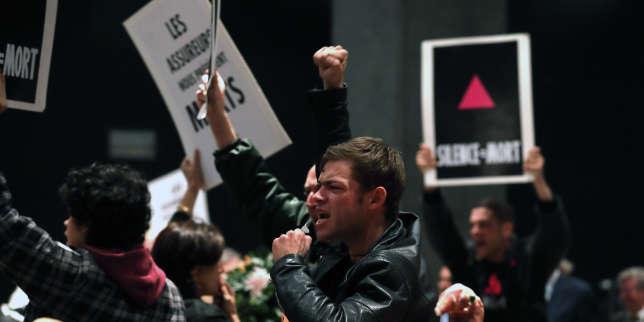 Félix Maritaud joue le rôle de Max, un militant d'Act Up-Paris, dans« 120 battements par minute», de Robin Campillo.