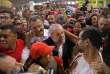 L'ancien président brésilien Lula au milieu de ses supporteurs, à Salvador de Bahia, le 17août 2017.