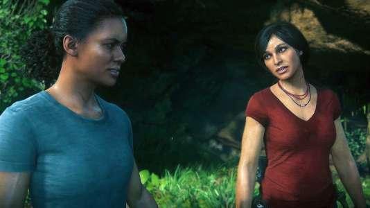 La complicité naissante entre Nadine Ross (à gauche) et Chloe Frazer, l'une méfiante, l'autre imprévisible, sont au coeur de l'aventure.