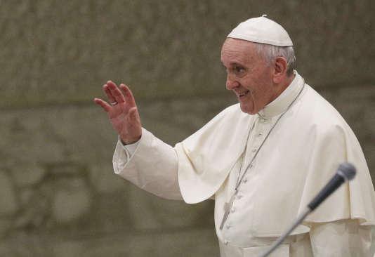 Le pape François lors d'une audience générale, au Vatican, le 9 août.