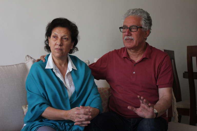 Radhia Nasraoui a entamé une grève de la faim le 11 juillet 2017 pour dénoncer le changement du système de protection de son mari Hamma Hammami, porte-parole du Front Populaire.