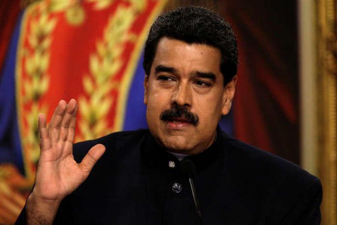 Le président vénézuélien Nicolas Maduro, le 22 août.