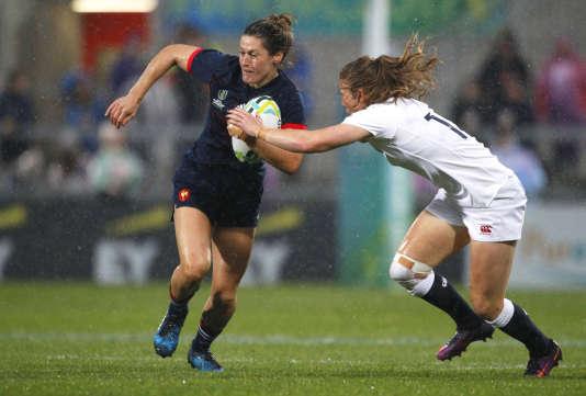 Coupe du monde féminine de rugby: la France éliminée par l'Angleterre