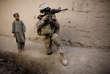 Un soldat américain en opération près de Kaboul, en 2010.