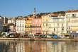 Le port de Sète (Hérault).