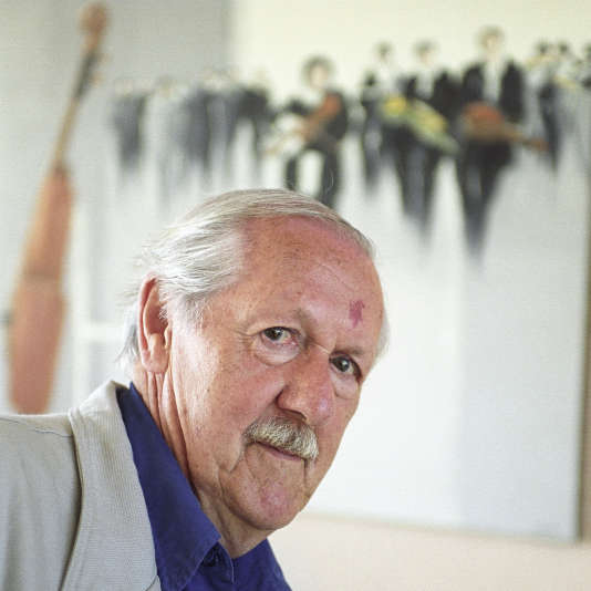 L'auteur de science-fiction Brian Aldiss.