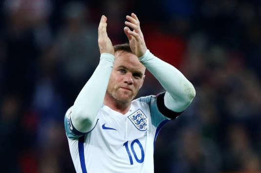 Wayne Rooney, en novembre 2016.