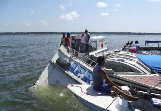 Mardi soir, un bateau a fait naufrage sur le fleuve Xingu, dans l'Etat du Para (nord), faisant 19 morts.