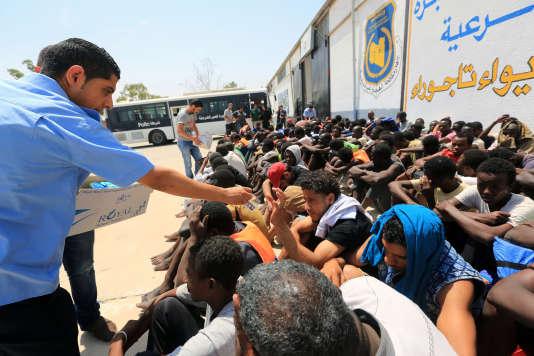Le calvaire des migrantsdans l'enfer libyen