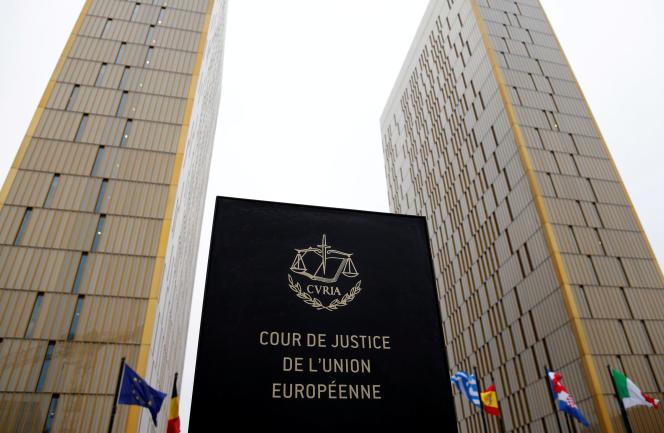 La Cour de justice de l'Union européenne, en janvier, à Luxembourg.