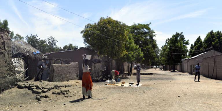Amchidé, localité du Cameroun à la frontière avec le Nigeria, en 2014.