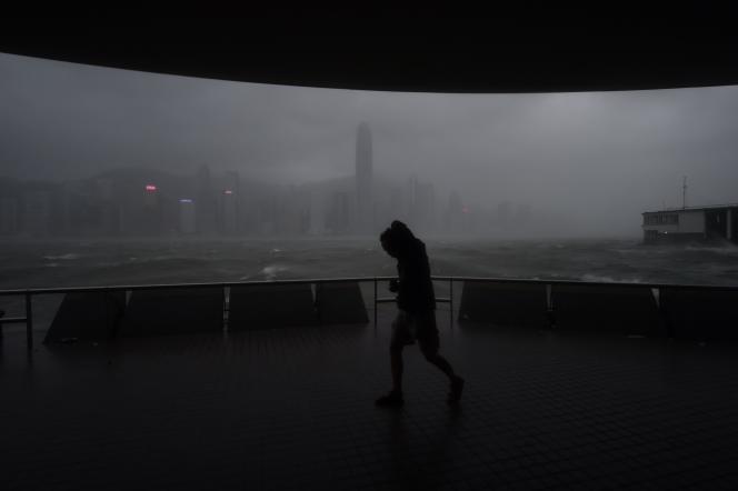 A Hongkong, le 23août.