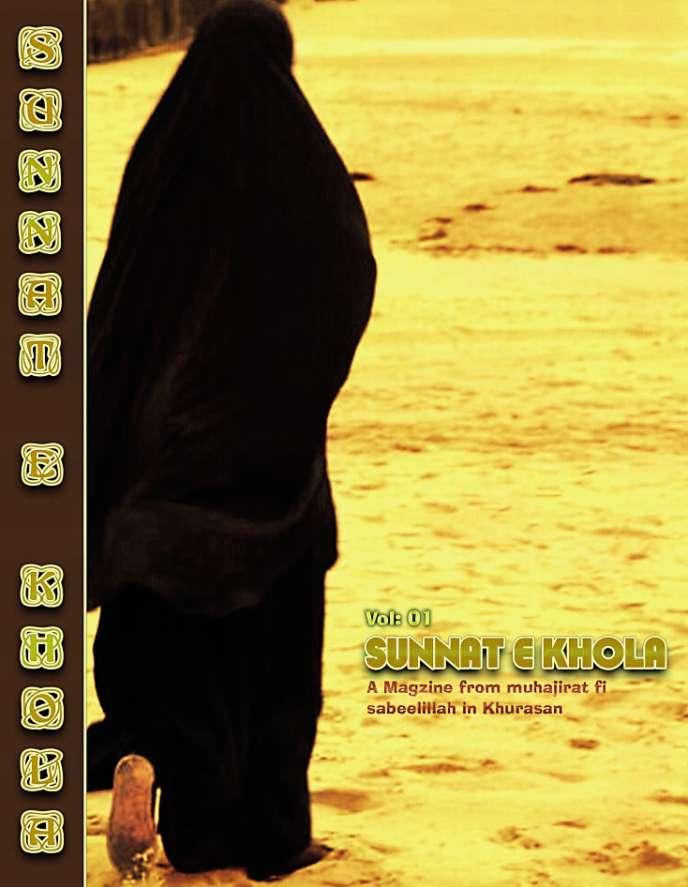 La couverture du premier numéro de «Sunnat E Khola».