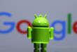 La mascotte Android de Google.