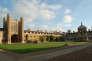 Sur le campus de l'université de Cambridge (Grande-Bretagne), en 2009.
