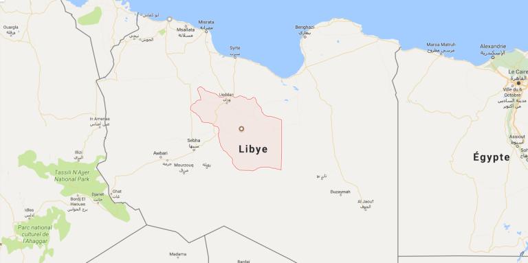 La région d'Al-Djoufrah, en Libye.