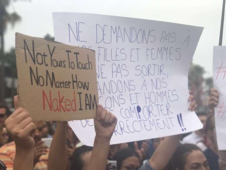 Lors du rassemblement à Casablanca, le 23 août.