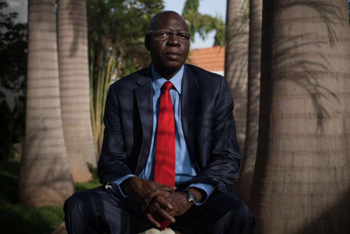 Salif Diallo, le 23décembre 2014, à Ouagadougou, peu après la chute du président Blaise Compaoré.