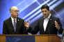 Greg Walden et le président républicain de la Chambre des représentants, Paul Ryan, chez Intel à Hillsboro (Orégon), le 23 août.