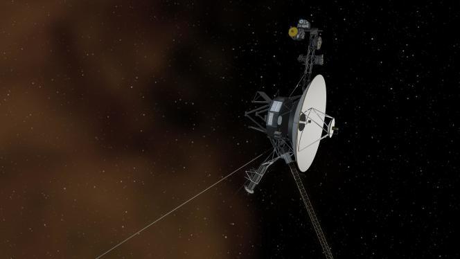 Représentation en 3D d'une sonde Voyager.
