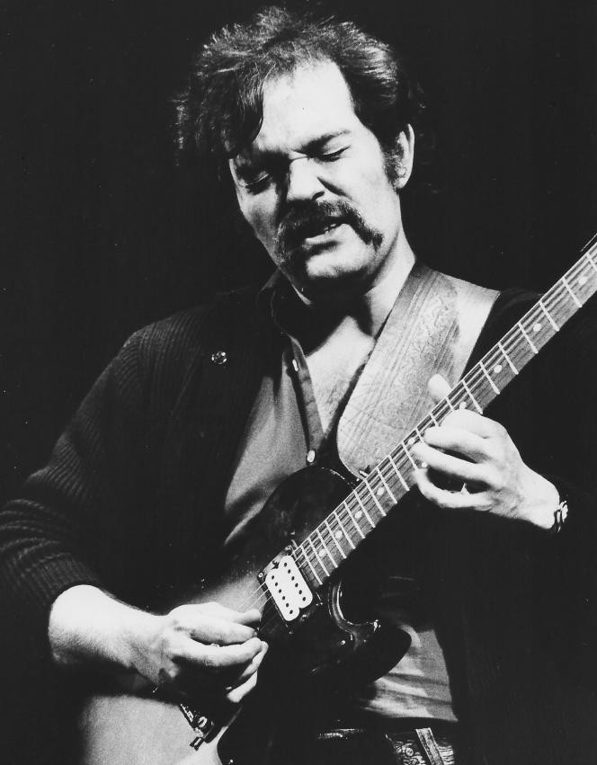 John Abercrombrie, le 15 mai 1977.