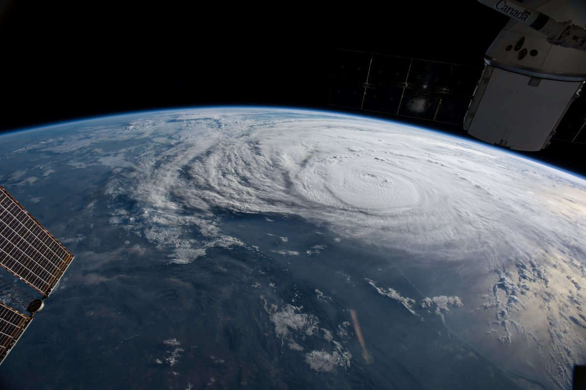 Cet ouragan de catégorie 4 – sur une échelle qui va jusqu'à 5 – est le plus puissant à frapper les Etats-Unis depuis 2005.