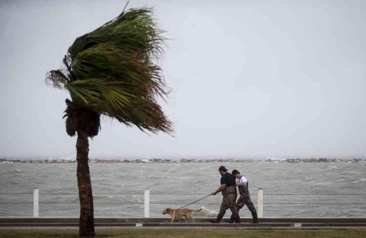 Les alertes météo prévoient plus d'un mètre de précipitations par endroits ainsi qu'une élévation du niveau de la mer, qui pourrait atteindre 4 mètres, pendant plusieurs jours.