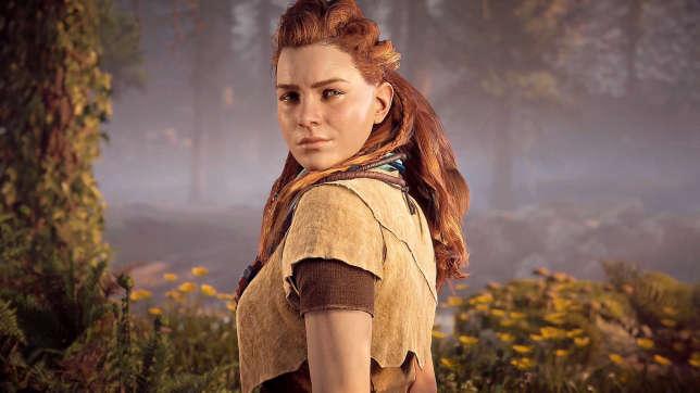 Aloy, héroïne de «Horizon : Zero Dawn», l'un des plus gros succès commerciaux de 2017.