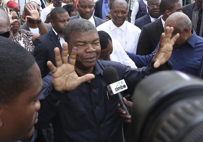 Joao Lourenço, le 23 août à Luanda.