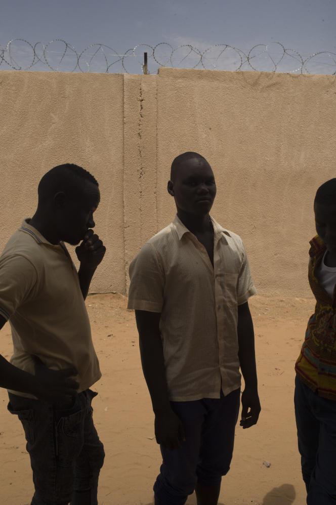 Dans un centre de «déradicalisation», à Goudoumaria au Niger, en août.