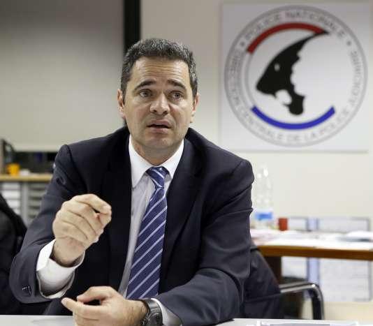 François Thierry, ancien chef de l'Office central pour la répression du trafic illicite des stupéfiants, ici en 2012.