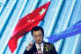 Wang Jianlin, le président du groupe immobilier Wanda, en avril, à Pékin.
