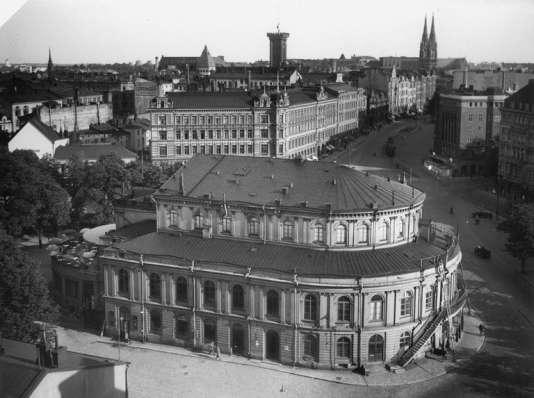 Le Théâtre suédois d'Helsinki, en1930.