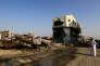 A Awamiya (Arabie saoudite), épicentre de la révoltede 2011, après l'intervention des forces de sécurité saoudiennes, le 9 août.