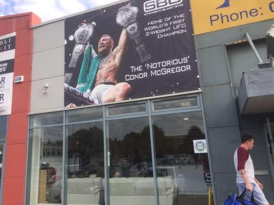 AuStraight Blast Gym, club de MMA dublinois.