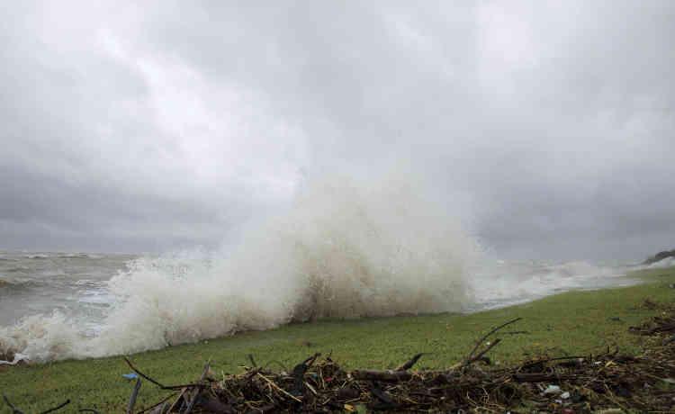 L'ouraga Harvey a touché les côtes du Texas vers 22 heures vendredi 25 août (5heures à Paris) avec des vents de 215 km/h.