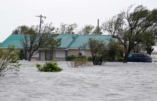 Dans la ville de Port Lavaca, au Texas, le 26 août.