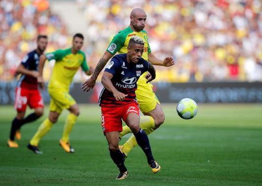 Lyon a obtenu le match nul sur la pelouse de Nantes, le 26 août.