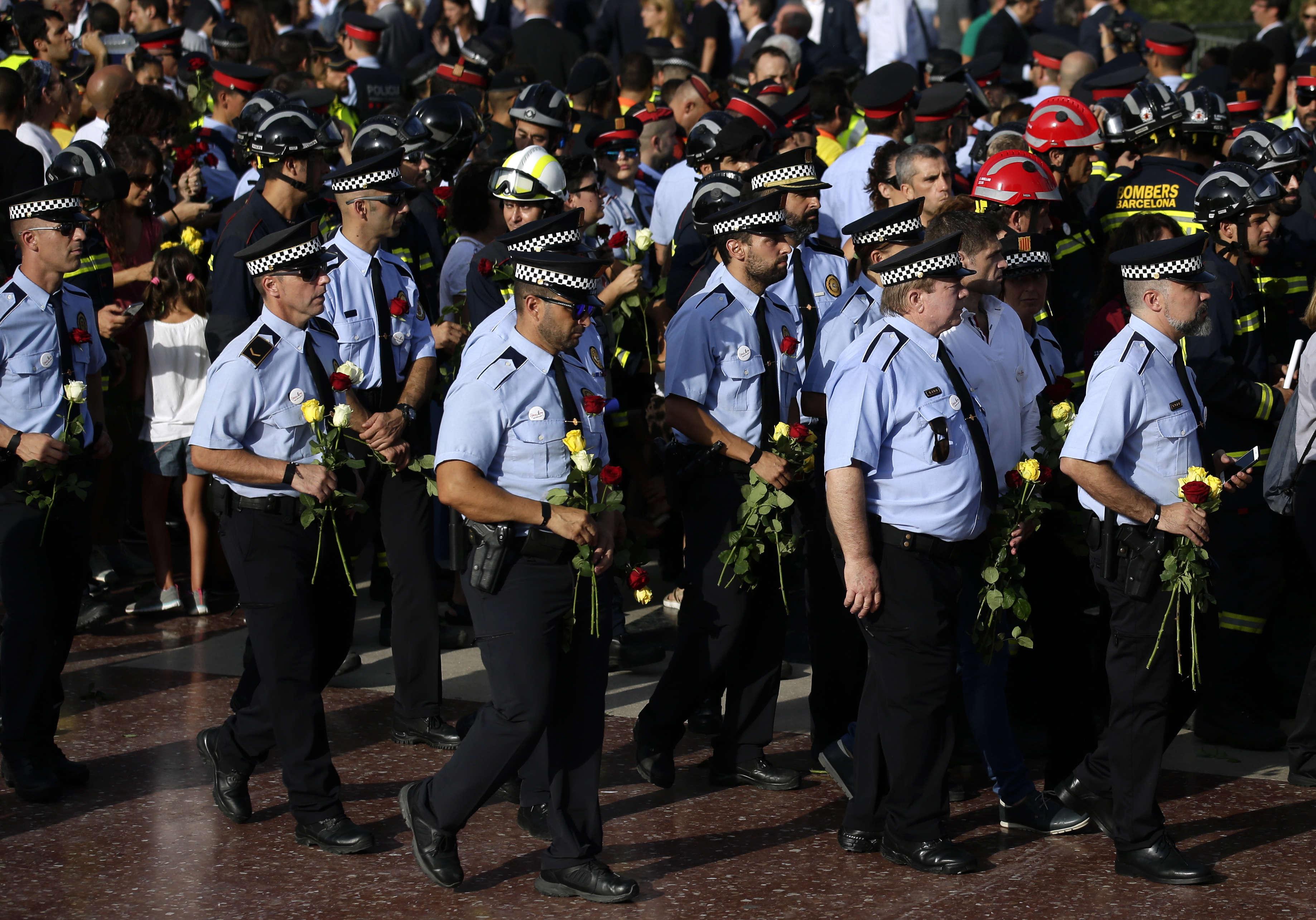 D'autres manifestations similaires étaient annoncées dans le pays, à Madrid, Valence ou encore Vigo.