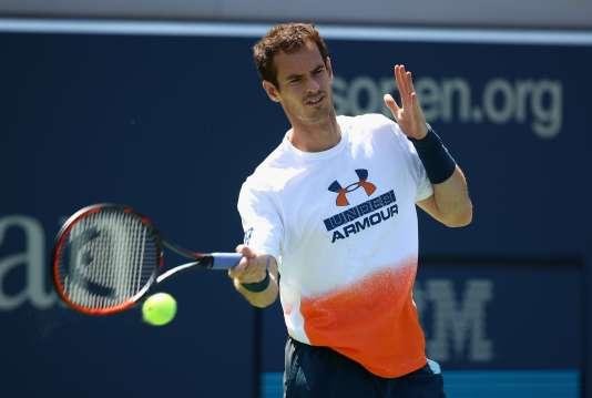Andy Murray à l'entraînement, le 26 août à New York.