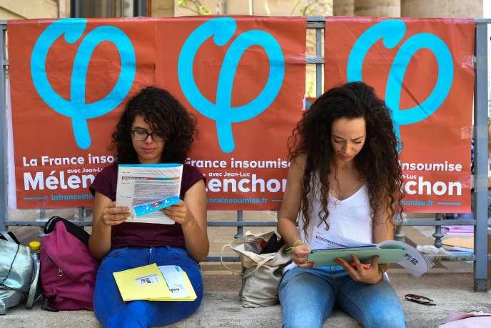 Premier jour de l'université d'été de La France insoumise à Marseille, le 24 août.